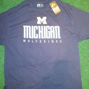 Michigan Wolverines Russell T Shirt